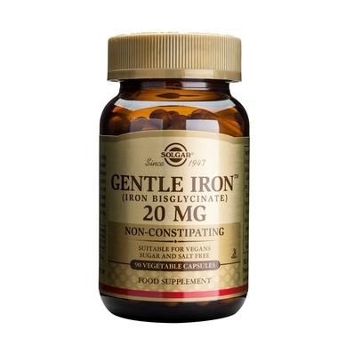Supliment alimentar, Fier, Solgar Gentle Iron (20 mg) - 90 capsule [0]