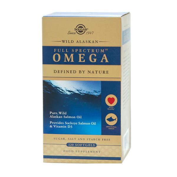 Supliment alimentar, SpectruComplet Omega din Somon Salbatic de Alaska, Full Spectrum Omega - 120 capsule [0]