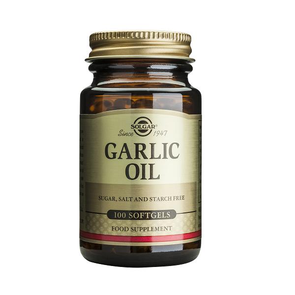 Supliment alimentar, Ulei de usturoi, Solgar Garlic Oil - 100 capsule [0]