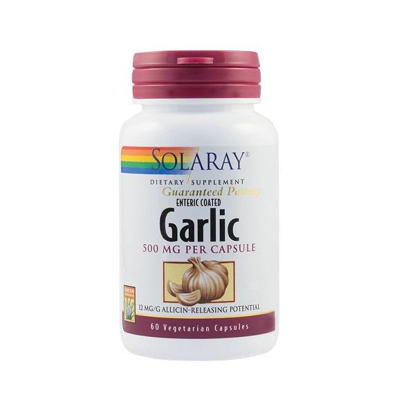Supliment alimentar, Usturoi, Garlic (500 mg) - 60 capsule [0]