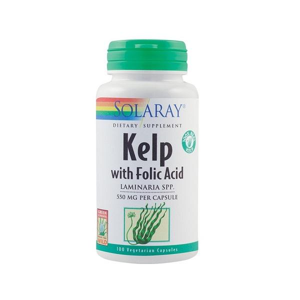 Supliment alimentar, Kelp (550 mg) - 100 capsule [0]