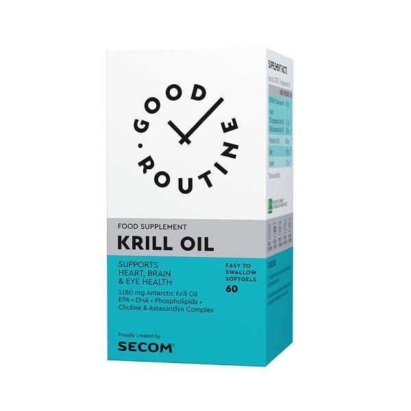 Supliment alimentar, Krill Oil - 60 capsule [0]