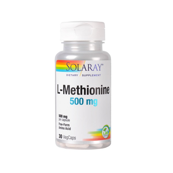Supliment alimentar, L-Methionine (500 mg) - 30 capsule [0]
