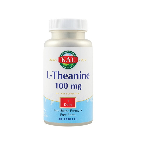Supliment alimentar, L-Theanine (100 mg) - 30 tablete [0]