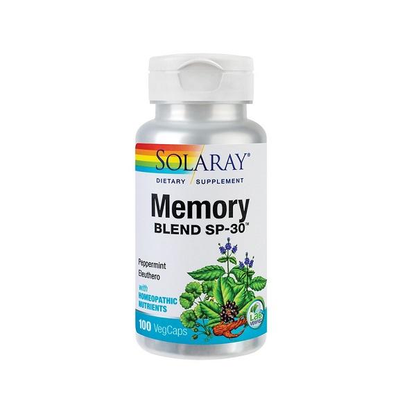 Supliment alimentar, Memory Blend, Solaray - 100 capsule [0]