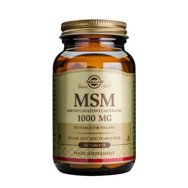 Supliment alimentar, Metilsulfonilmetan (MSM) 1000 mg - 60 tablete [0]