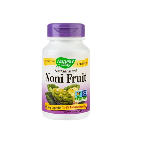 Supliment alimentar, Noni Fruit SE (500 mg) - 60 capsule [0]
