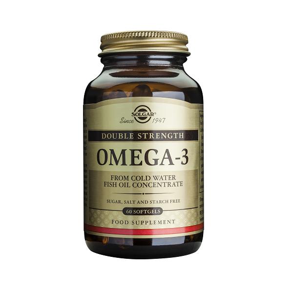 Supliment alimentar, Omega 3, Dublu concentrat (Ulei de peste) 700 mg - 60 capsule [0]