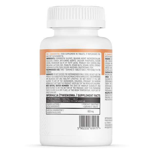 Supliment alimentar, Condroitina (800 mg), OstroVit Chondroitin - 60 comprimate (60 doze) [1]