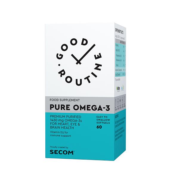 Supliment alimentar, Pure Omega-3 - 60 capsule [0]
