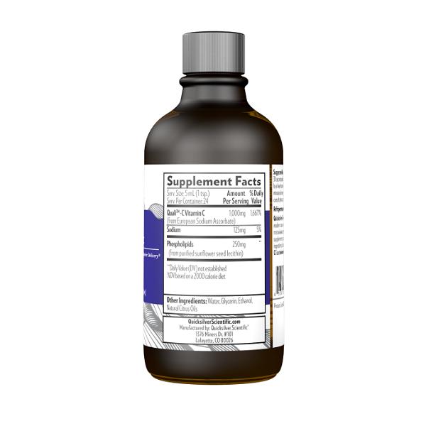 Supliment alimentar, Vitamina C Lipozomala (1000 mg), Quicksilver Scientific Liposomal Vitamin C - 120 ml (24 doze) [1]