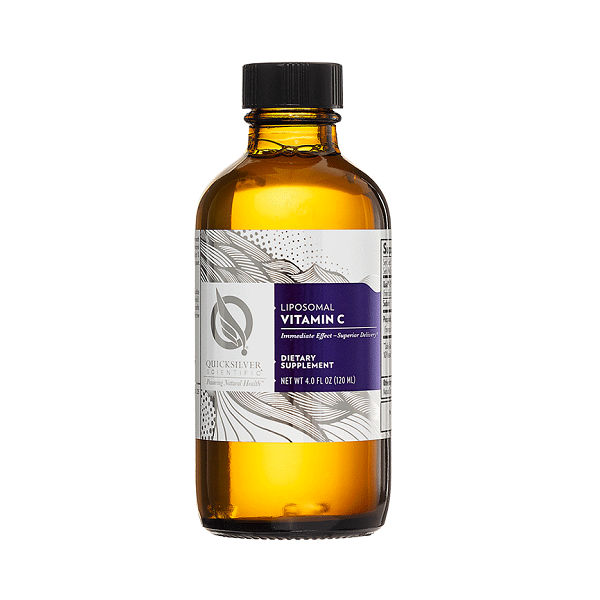 Supliment alimentar, Vitamina C Lipozomala (1000 mg), Quicksilver Scientific Liposomal Vitamin C - 120 ml (24 doze) [0]