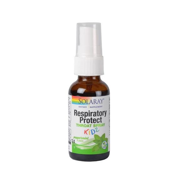 Supliment alimentar pentru copii, Respiratory Protect Throat Spray KIDZ - 30ml [0]