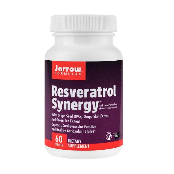 Supliment alimentar, Resveratrol Synergy - 60 tablete [0]