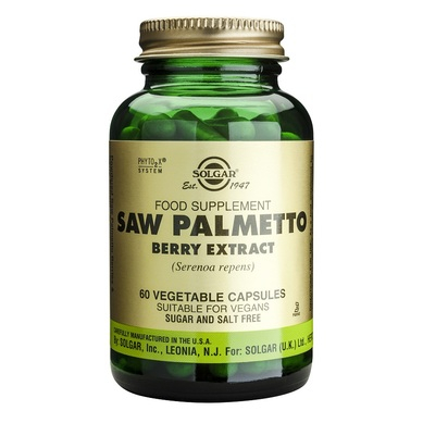Supliment alimentar, Palmier Pitic, Solgar Saw Palmetto Berry Extract - 60 capsule [0]