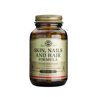 Supliment alimentar, Piele, Unghii si Par, Solgar Skin, Nails and Hair - 60 tablete [0]