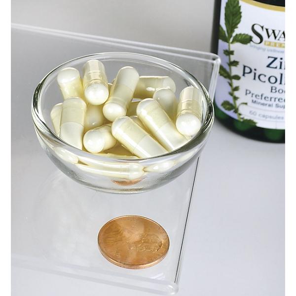 Supliment alimentar, Picolinat de Zinc (22 mg), Swanson Zinc Picolinate Body Preferred Form - 60 capsule (60 doze) [2]