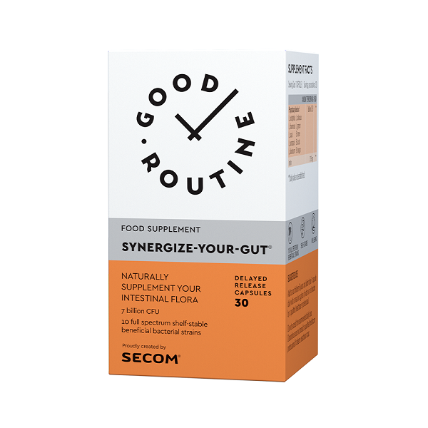 Supliment alimentar, Synergize Your Gut - 30 capsule [0]