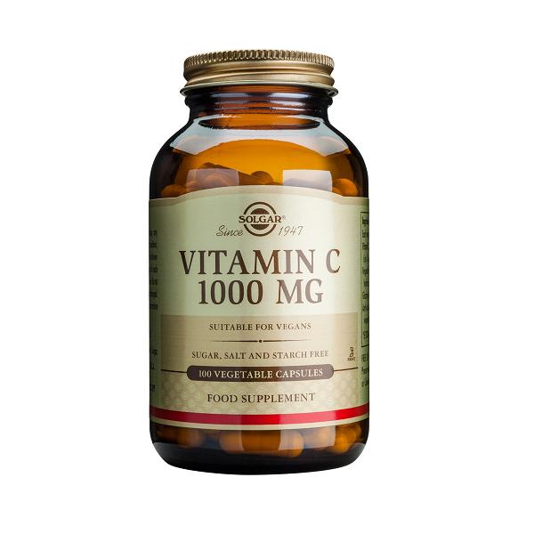 Supliment alimentar, Vitamina C, Solgar Vitamin C (1000 mg) - 100 capsule [0]