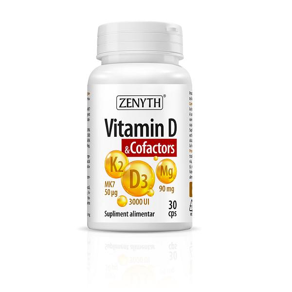 Supliment alimentar, Vitamin D & Cofactors - 30 capsule [0]