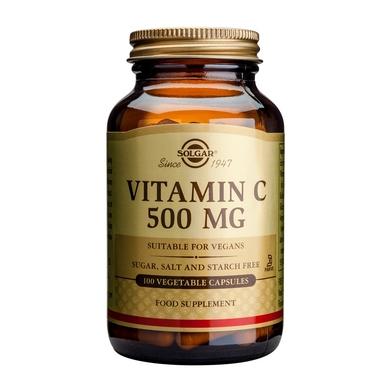 Supliment alimentar, Vitamina C, Solgar Vitamin C (500 mg) - 100 capsule [0]
