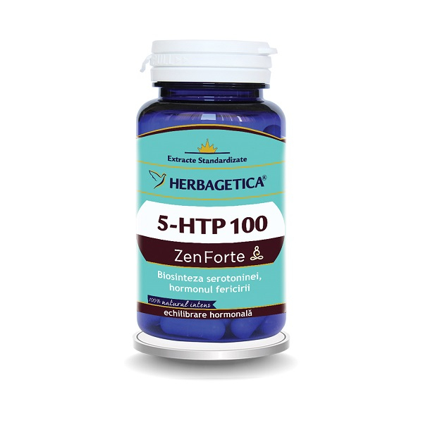 Supliment alimentar, 5-HTP 100 Zen Forte - 30 capsule [0]