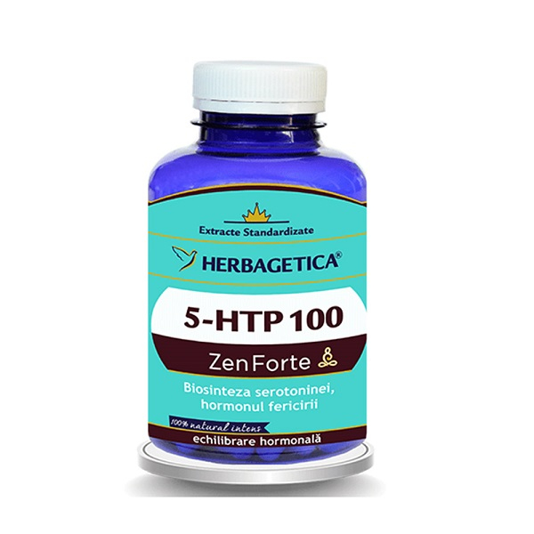 Supliment alimentar, 5-HTP 100 Zen Forte - 120 capsule [0]