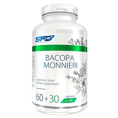 Supliment alimentar, Adaptogen, Bacopa Monnieri (250 mg/tableta) - 90 comprimate (90 doze) [0]