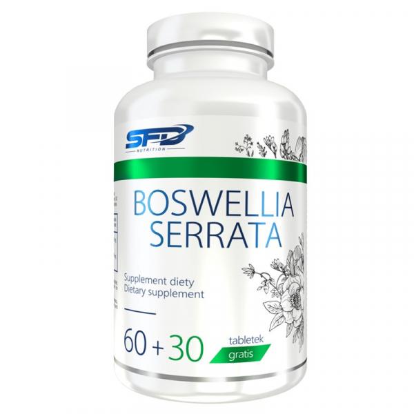 Supliment alimentar, Adaptogen, SFD Boswellia Serrata (Standardizat 60% Acizi Boswelici) - 90 comprimate (360 doze) [0]