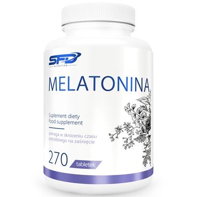 Supliment alimentar, Tulburari de Somn si Insomnii, SFD Melatonina (1 mg) - 270 comprimate (270 doze) [0]