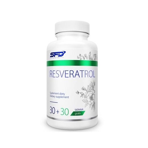 Supliment alimentar, SFD Resveratrol (62.5 mg Trans-resveratrol) - 60 comprimate (60 doze) [0]
