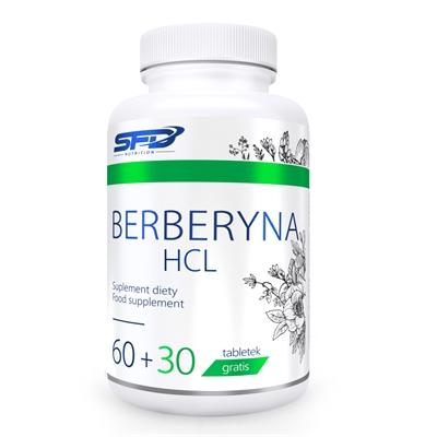 Supliment alimentar, SFD BerberynaHCL (Standardizat 98% Berberina HCL) - 90 comprimate (90 doze) [0]
