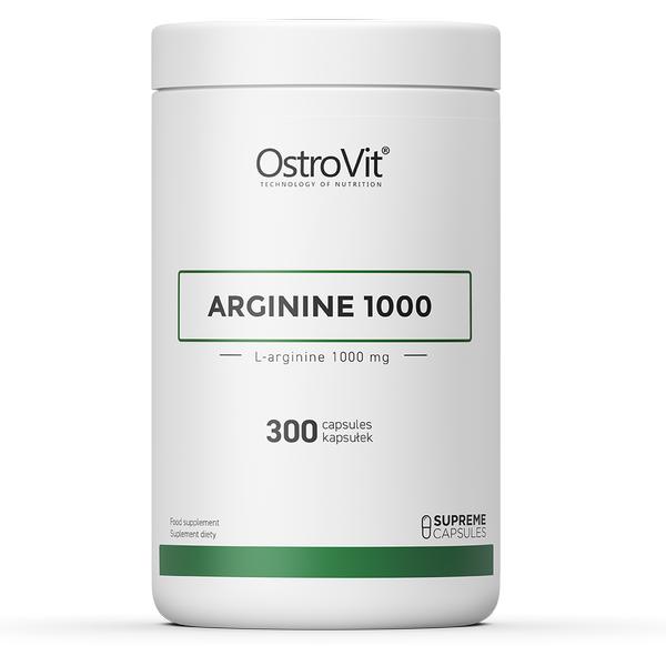 Supliment alimentar, Arginina (1000 mg/capsula), OstroVit Supreme Capsules Arginine 1000 - 300 capsule (100 doze) [0]