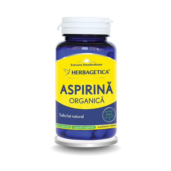 Supliment alimentar, Aspirina Organica - 30 capsule [0]