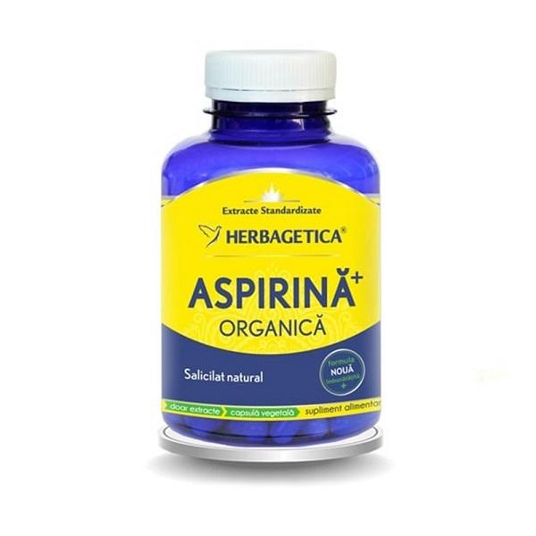 Supliment alimentar, Aspirina Organica - 120 capsule [0]
