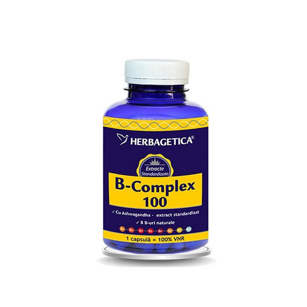 Supliment alimentar, B Complex 100 - 120 capsule [0]