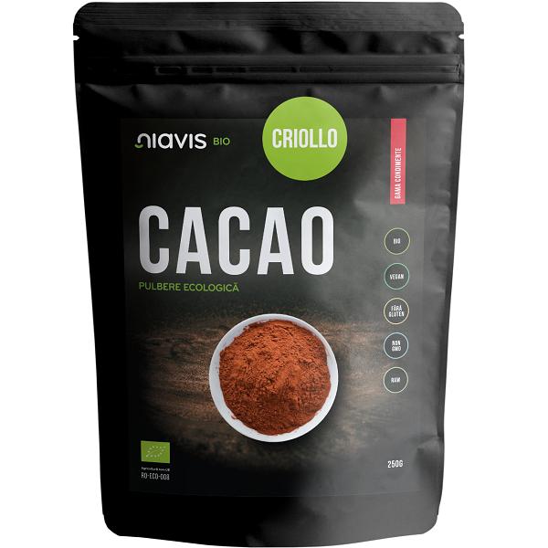 Cacao Criollo Pulbere Ecologica/Bio - 250 g [0]