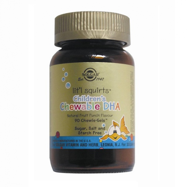 Supliment alimentar, Children's Chewable DHA - 90 capsule [0]