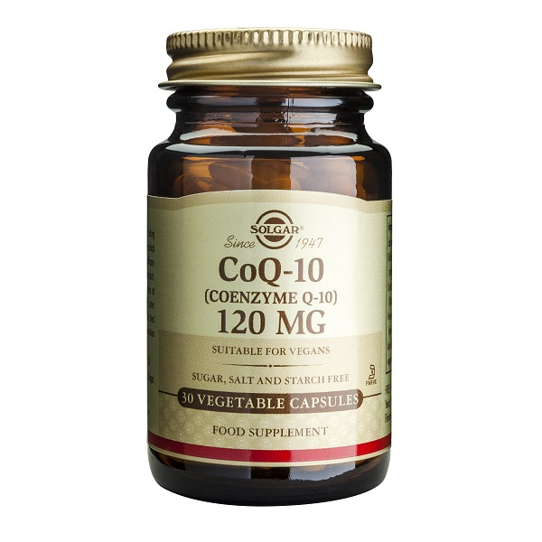 Supliment alimentar, Coenzima, Coenzyme Q-10 (120 mg) - 30 capsule [0]