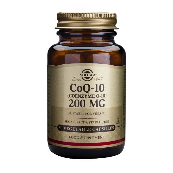 Supliment alimentar, Coenzima, Coenzyme Q-10 (200 mg) - 30 capsule [0]