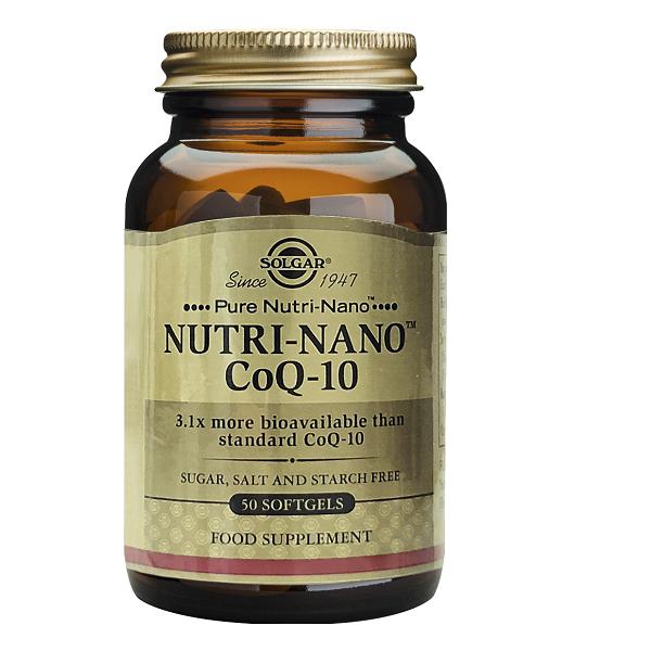 Supliment alimentar, Coenzima Q-10 Nutri-Nano (ubiquinona) - 50 capsule [0]