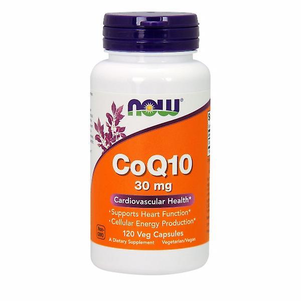 Supliment alimentar, Coenzima Q10 (30 mg), Now Foods CoQ10 - 120 capsule (120 doze) [0]
