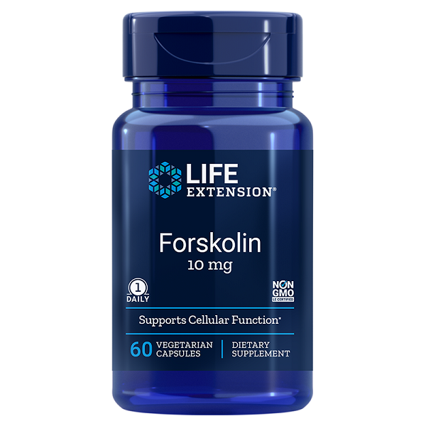 Supliment alimentar, Coleus Forskohlii Standardizat 10% Forskolina, Life Extension Forskolin - 60 capsule [0]