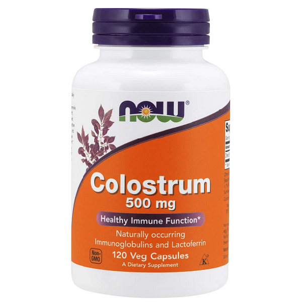 Supliment alimentar, Now Foods Colostrum (500 mg) - 120 capsule (120 doze) [0]