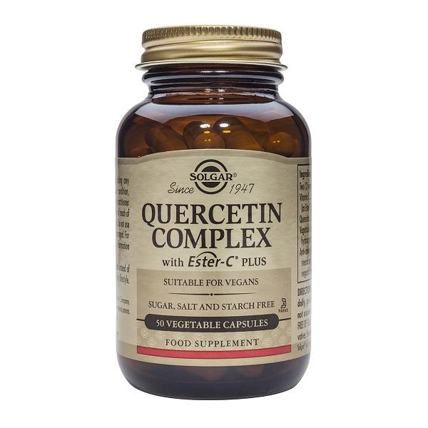 Supliment alimentar, Complex de Quercetina, Quercetin Complex - 50 capsule [0]