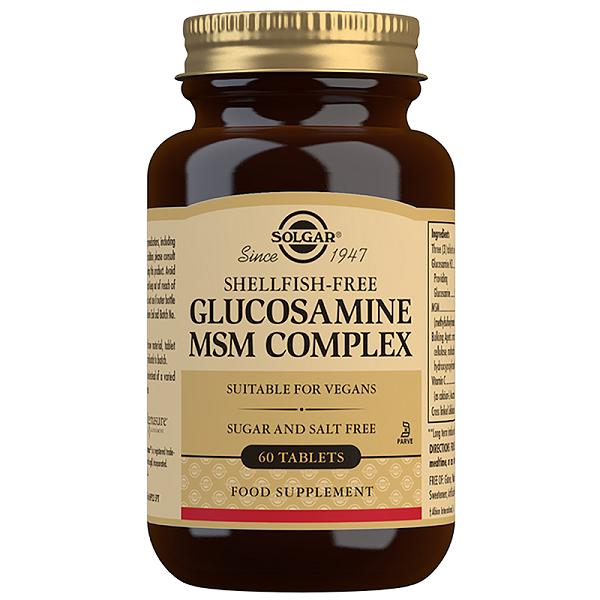Supliment alimentar, Complex Glucozamina MSM, Glucosamine MSM Complex - 60 tablete [0]