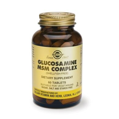 Supliment alimentar, Complex Glucozamina MSM, Glucosamine MSM Complex - 60 tablete [1]
