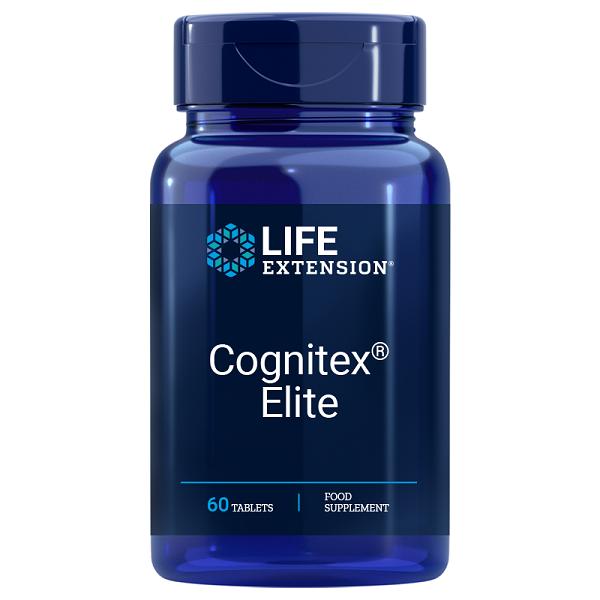 Supliment alimentar, Complex pentru Functia Cognitiva, Life Extension Cognitex® Elite - 60 comprimate [0]