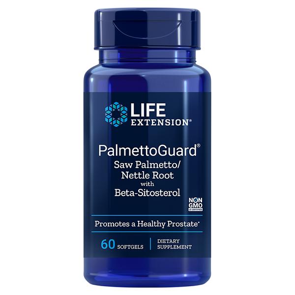 Supliment alimentar, Complex pentru Prostata si Confort Urinar, Life Extension PalmettoGuard - 60 capsule [0]