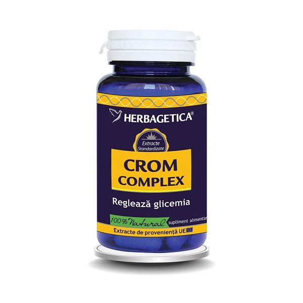 Supliment alimentar, Crom Complex - 60 capsule [0]